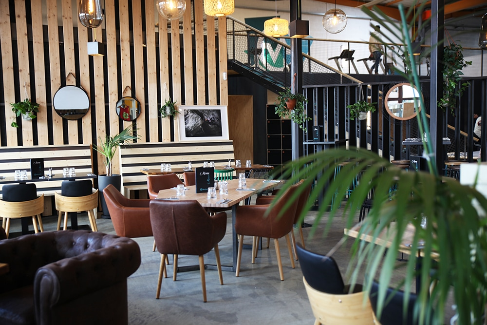 restaurant bar salle d'escalade Vertical'Art Toulon