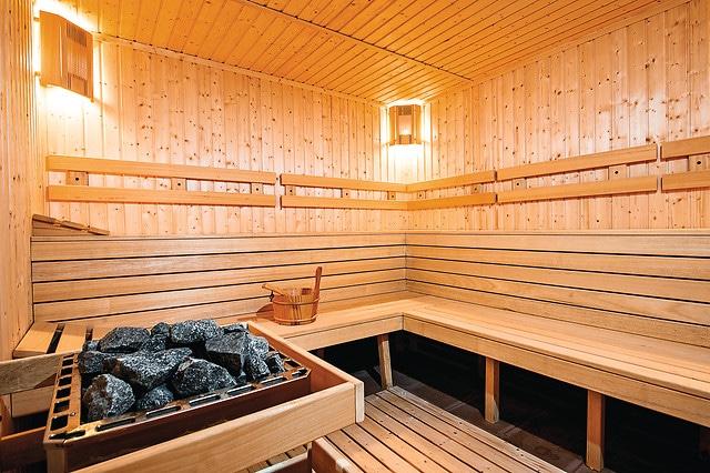 sauna à Vertical'Art Toulon - salle d'escalade dans le var - restaurant et bar -